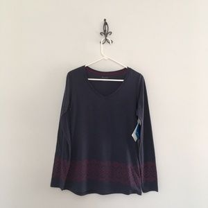 Columbia Long Sleeve Printed Tee Size S Small